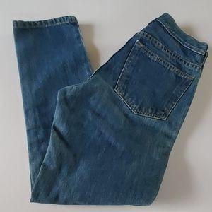 Lands End slim ankle jeans size 4